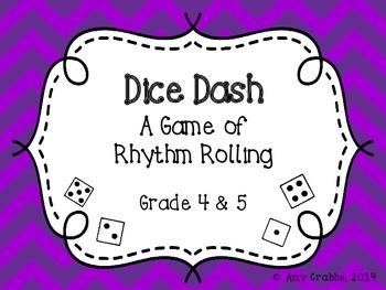 Dice Dash: A Rhythm Game (Grades 4 & 5)