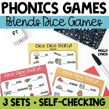 Blends Phonics Game