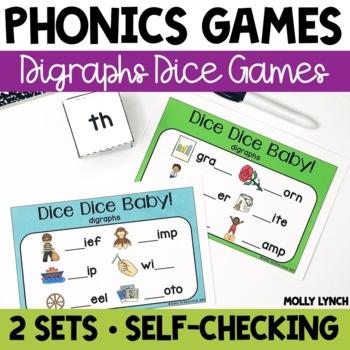Digraphs Phonics Game