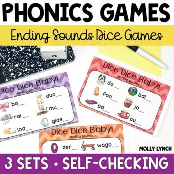 Ending Sounds Phonics Game