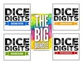 Dice Digits BUNDLE : Addition, Subtraction, Multiplication, Division