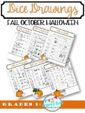 Dice Drawing: Roll-a-JACK-O-LANTERN, Roll-a-WITCH, One day