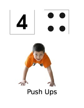 Dice Exercise Game