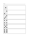 Dice Face Tracking Sheet