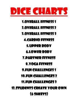 Dice Fitness