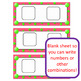 Number Sense Addition Facts Game