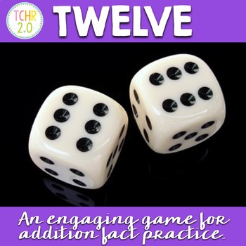 Dice Game Addition Fact Practice Free