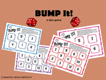 Dice Game- BUMP It!