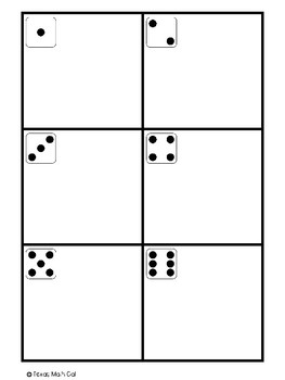 Dice Game Board- Place Value