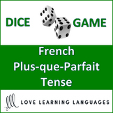 Dice Game - French Plus-que-Parfait Tense