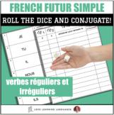 Dice Game - French Futur Simple Tense- Jeu de Dés