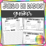 Dice Game (Juego de Dados) - Gustar in the Present Tense
