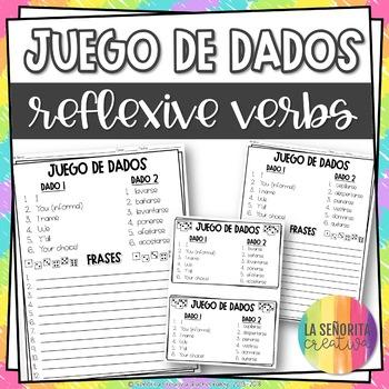 Dice Game (Juego de Dados) - Reflexive Verbs