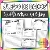 Spanish Reflexive Verbs Conjugation Dice Activity