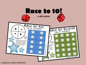 Dice Game- Race to 10!