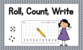 Dice Game {Roll, Count, Write}