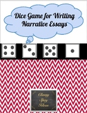 Dice Game for Writing Narrative Essays