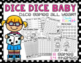 Dice Games All Year! {Printables}