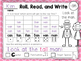 Short Vowel - Roll, Read, and Write with Dice