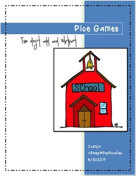 Dice Games - Two Digit Addition and Subtraction