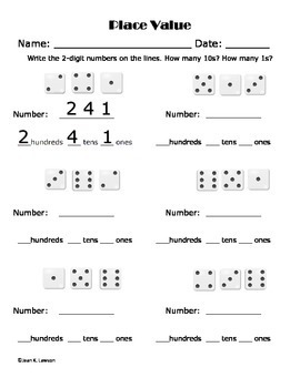 Dice Games for Math and ELA Story Details K-2