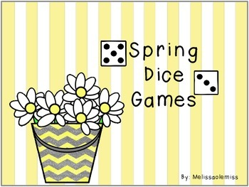 Spring Roll Add/Subtract Dice Games