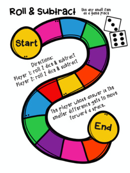 Dice Games for in the Classroom & at Home