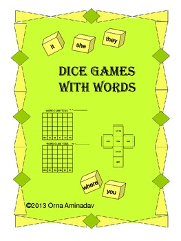 Dice Games with Words