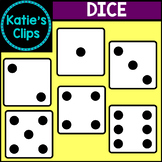 Dice {Katie's Clips Clipart}