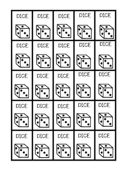 Dice Label