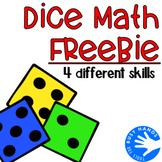Dice Math-4 Different Skills