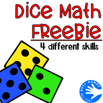 Dice Math-4 Different Skills