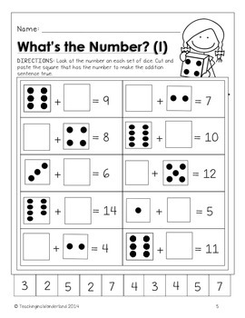 Dice Math Activities {Kindergarten - Grade 3}