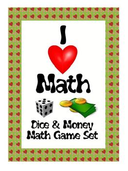 Dice & Money Math Games