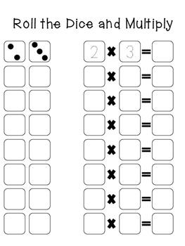 Dice Multiplication