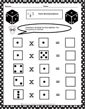 Dice Multiplication Bundle