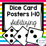 Number Cards 1 - 10 {Dice}