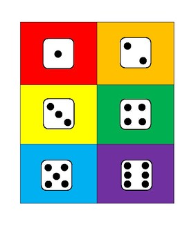 Dice Page for ANY Rolling Activities