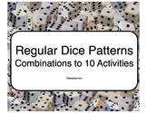 Dice Pattern Subitizing Combinations to 10