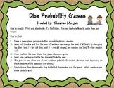 Dice Probability Math Games