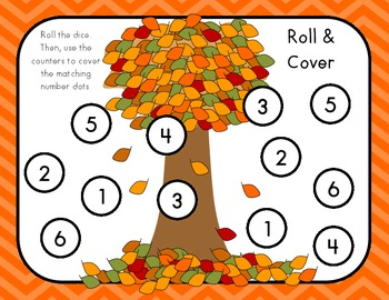 Dice Roll and Cover Fall