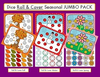 Dice Roll and Cover JUMBO PACK