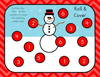Dice Roll and Cover Winter