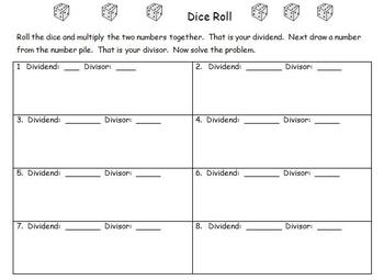 Dice Roll-division