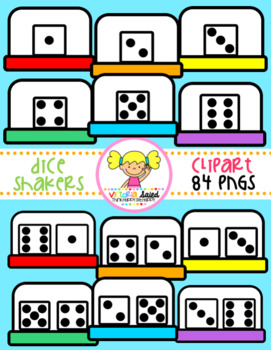 Dice Shakers Clipart