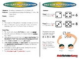 Dice Slap Multiplication - 3rd Grade Math Game [CCSS 3.OA.C.7]