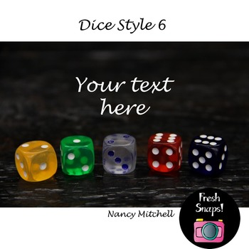 Dice Style 6