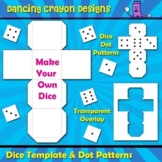 Dice Clip Art / Blank Dice Template