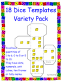 Dice Template Variety Pack