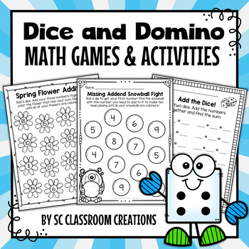 Dice and Domino Math Games